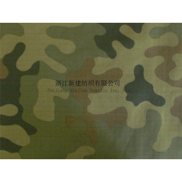 Military Camouflage CVC Fabric For Poland
